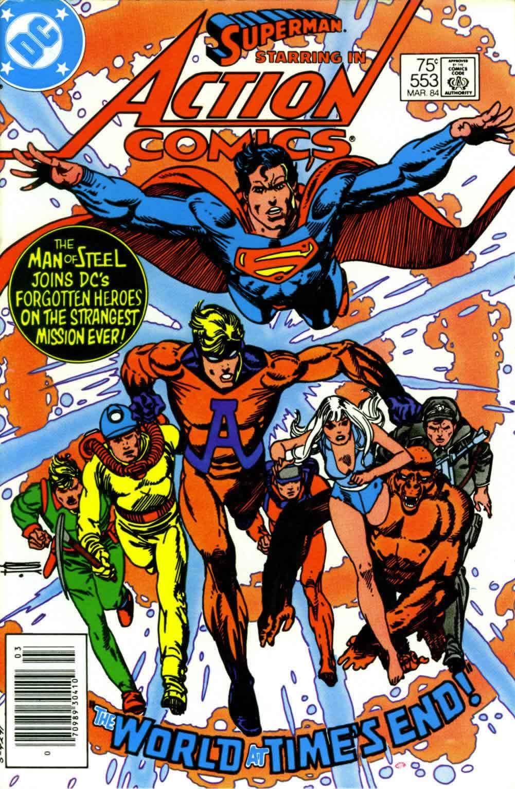 Action Comics (1938) 553 Page 1