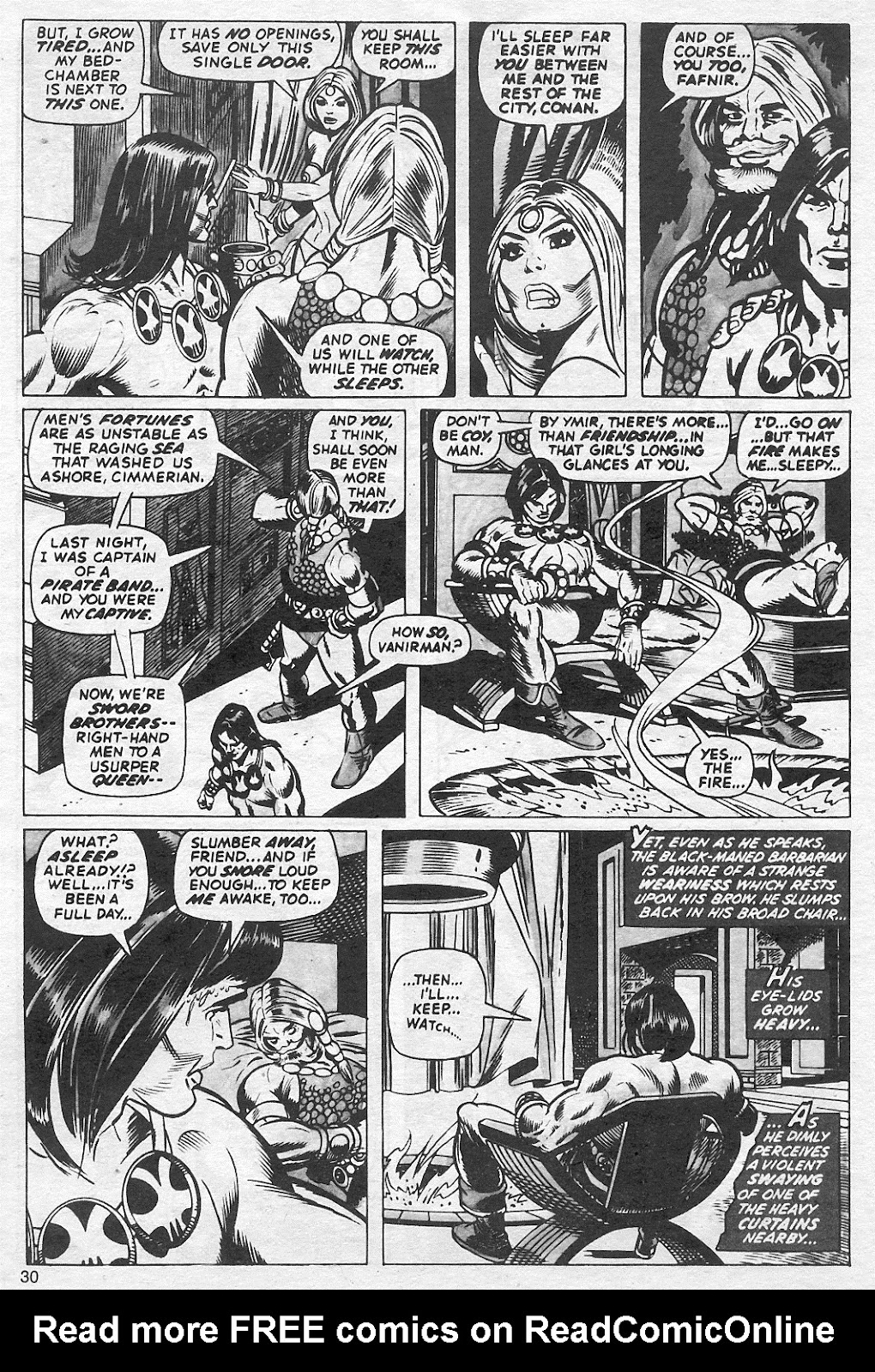 The Savage Sword Of Conan Issue #13 #14 - English 30