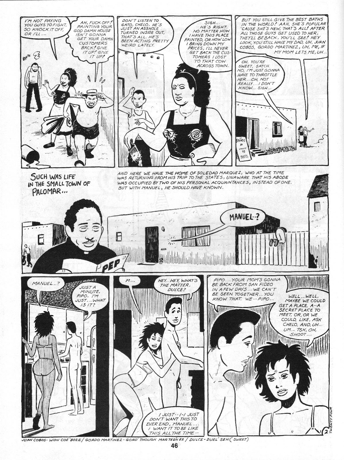 Love and Rockets (1982) Issue #4 #3 - English 48