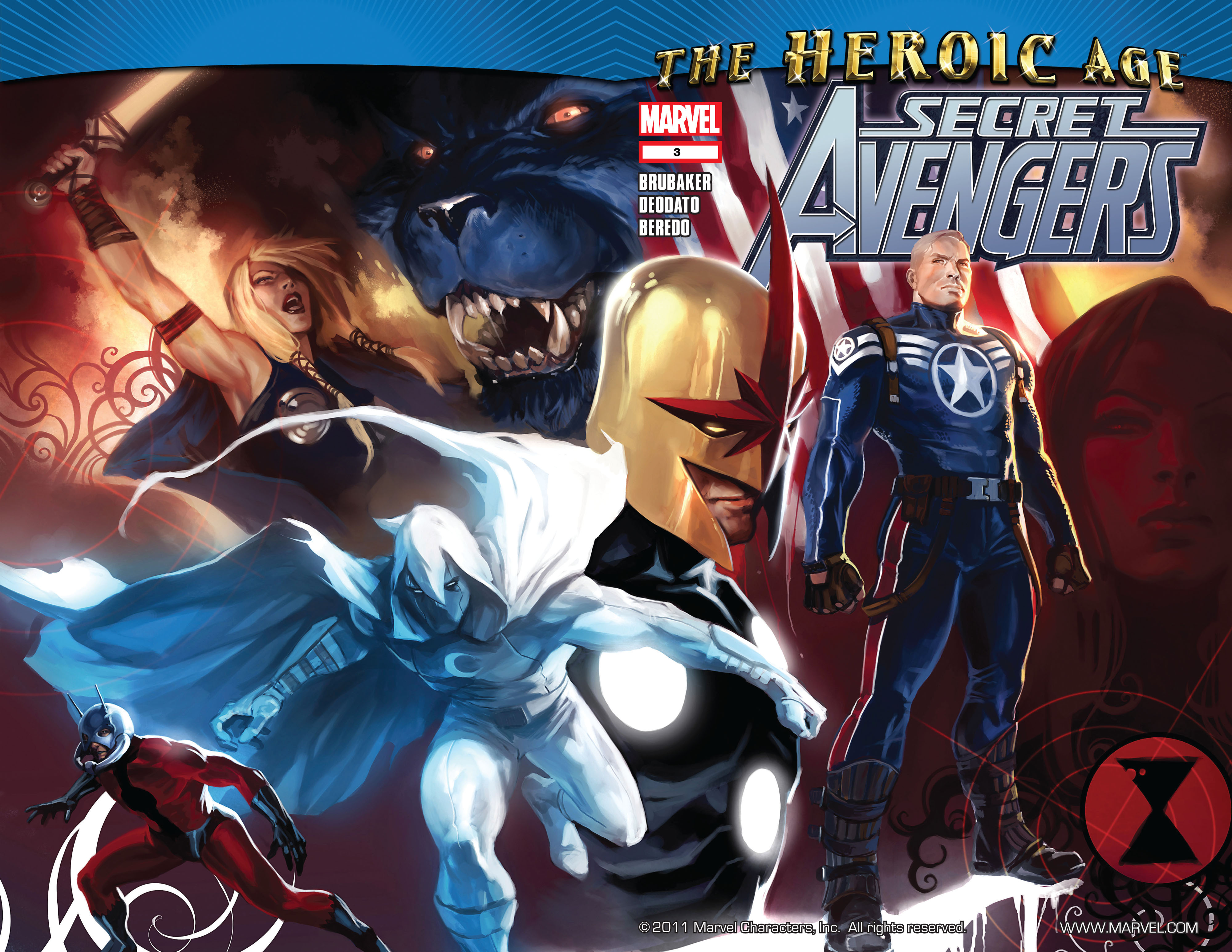 Read online Secret Avengers (2010) comic -  Issue #3 - 2