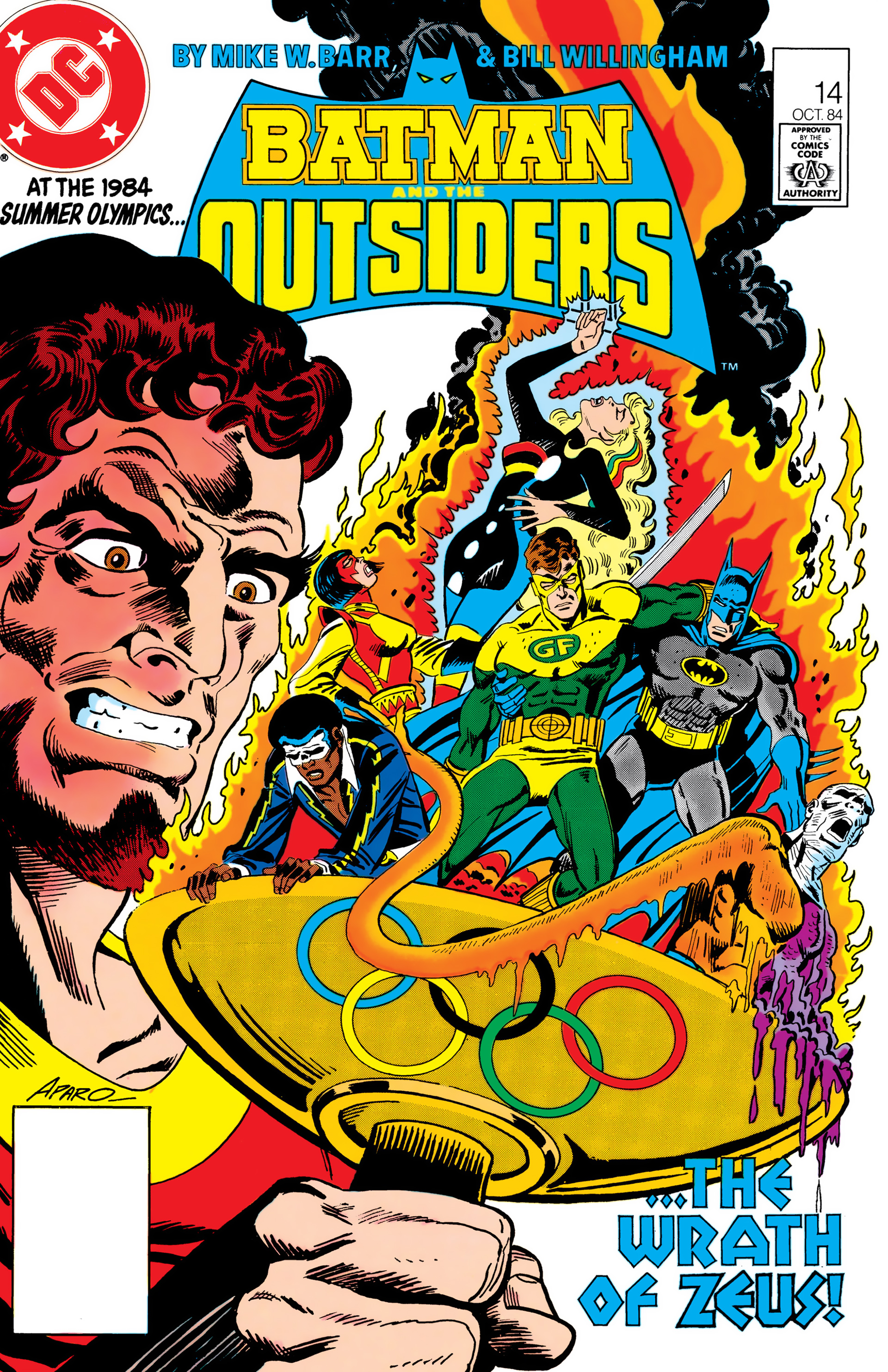 Batman and the Outsiders (1983) 14 Page 1