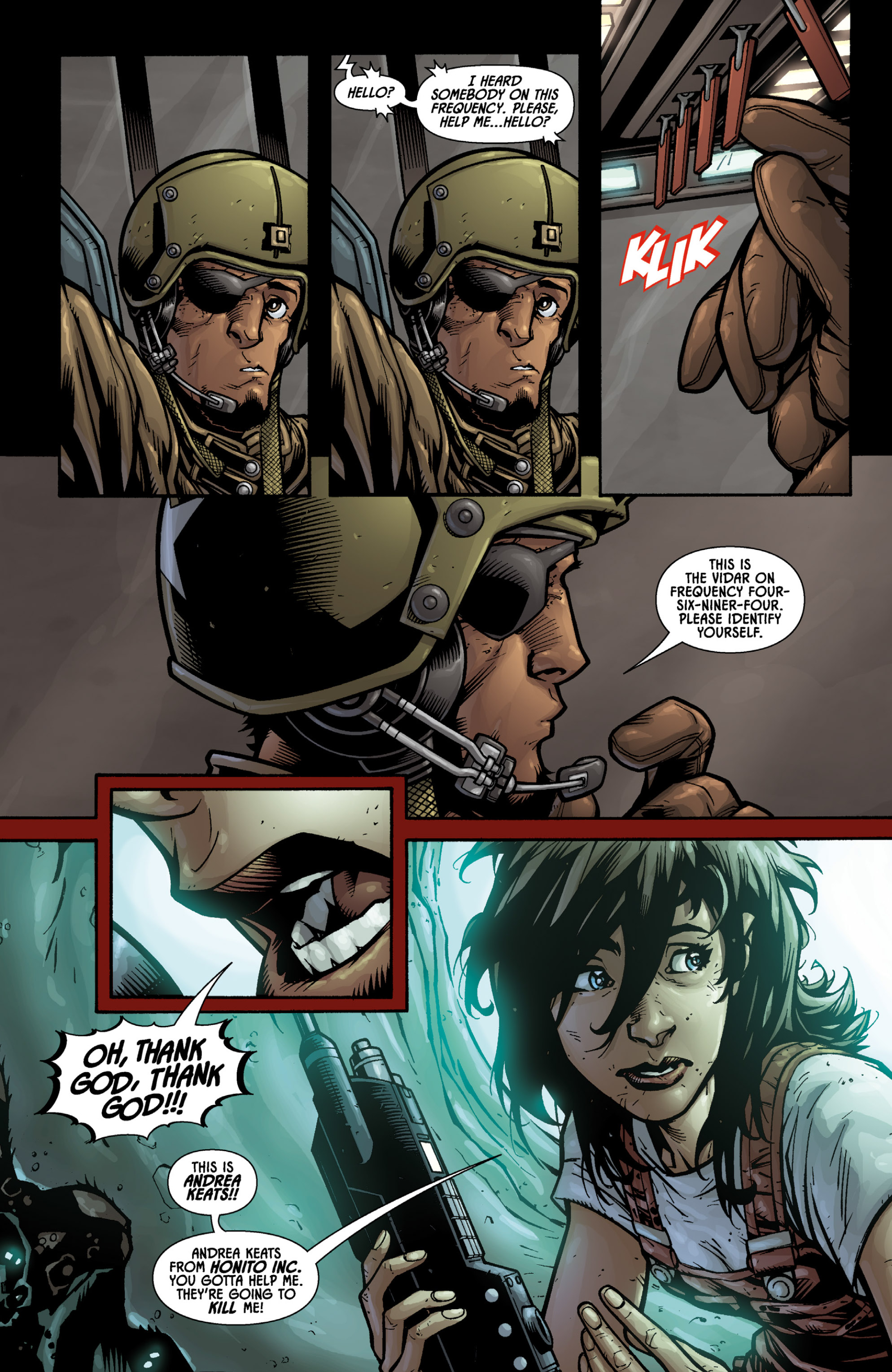 Aliens (2009) TPB Page 37