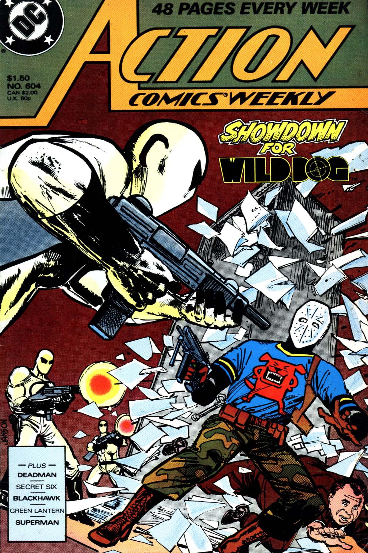 Action Comics (1938) 604 Page 1