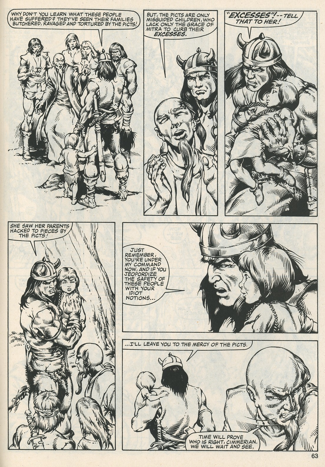The Savage Sword Of Conan Issue #112 #113 - English 65