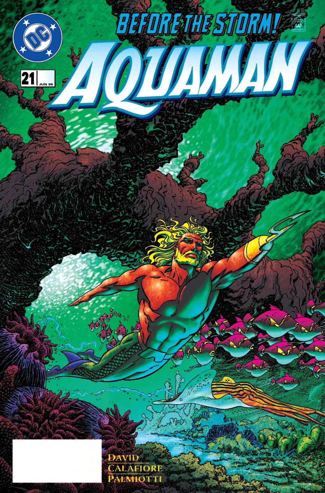 Aquaman (1994) Issue #21 #27 - English 1