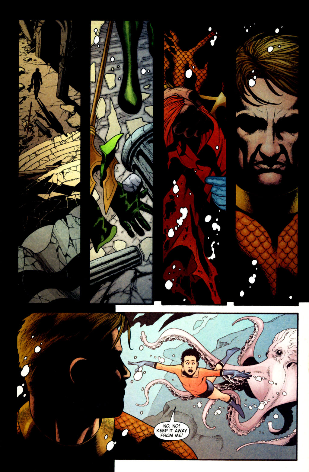 Read online Aquaman (2003) comic -  Issue #38 - 17