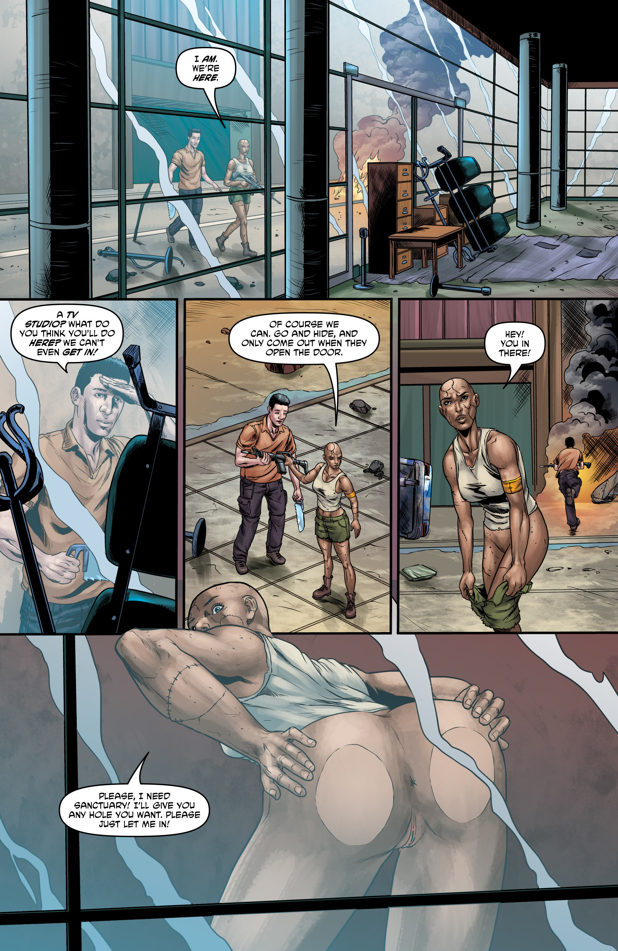 Read online God Is Dead comic -  Issue #47 - 12