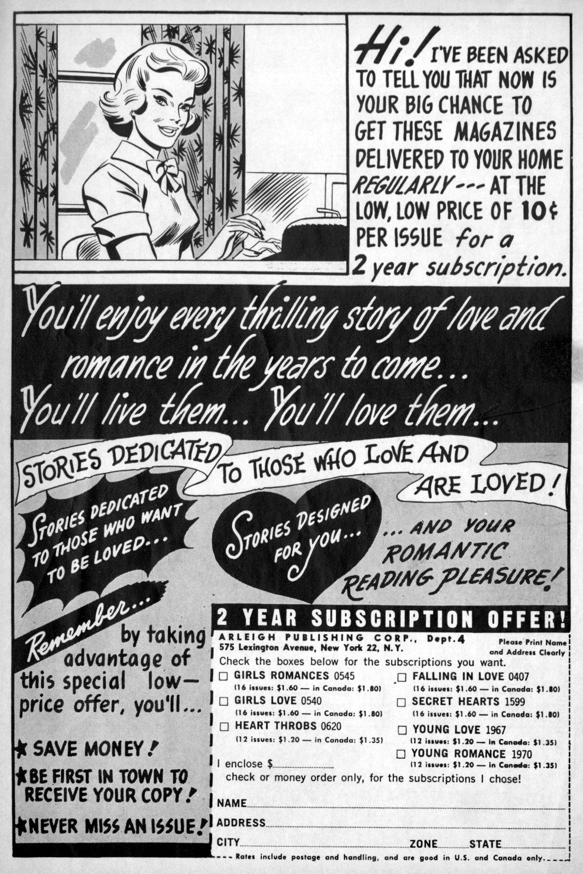 Read online Secret Hearts comic -  Issue #96 - 35