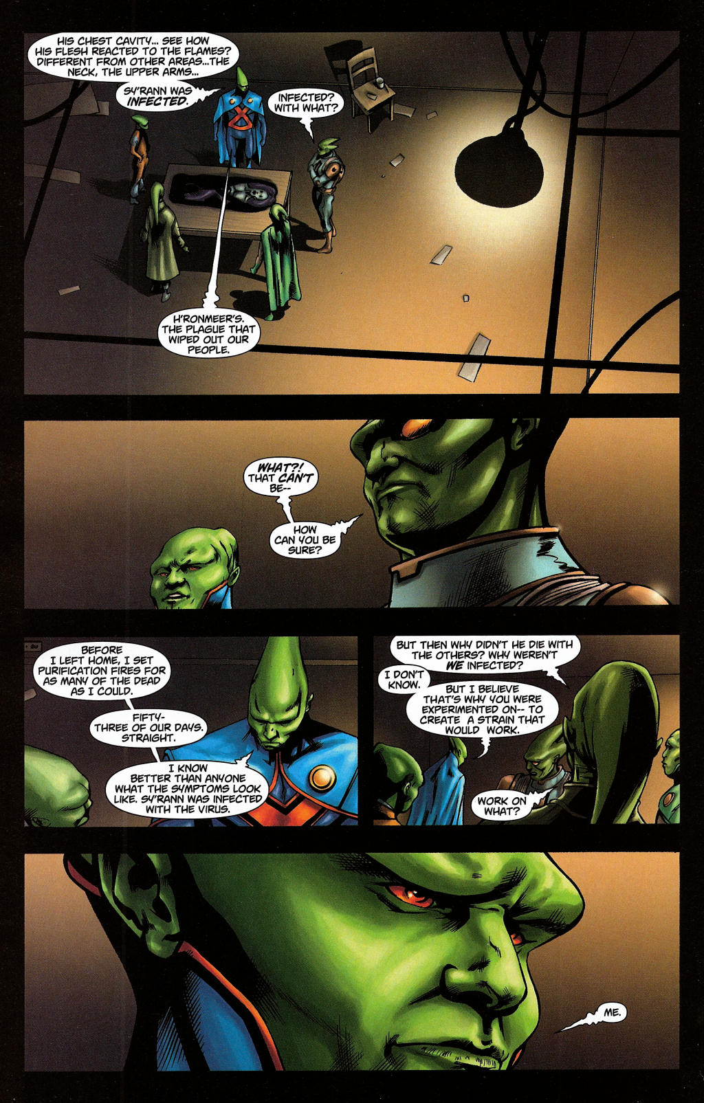 Read online Martian Manhunter (2006) comic -  Issue #5 - 22