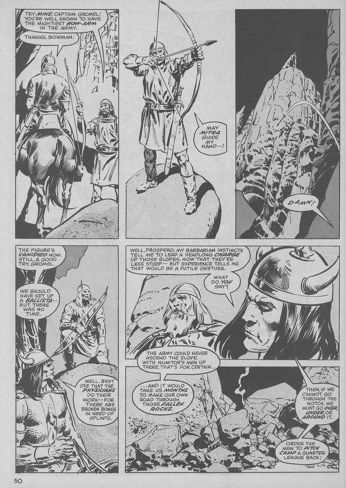 The Savage Sword Of Conan Issue #51 #52 - English 50