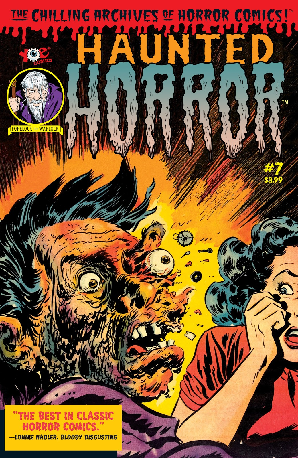 Haunted Horror Issue #7 #7 - English 1