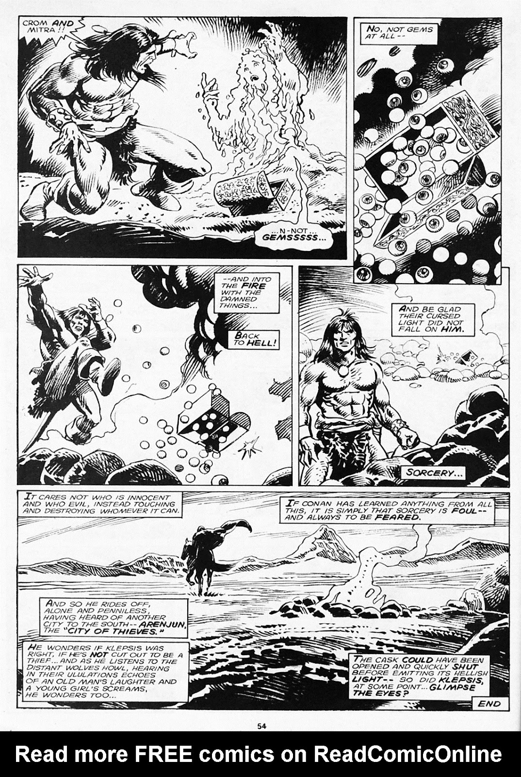 The Savage Sword Of Conan Issue #180 #181 - English 56