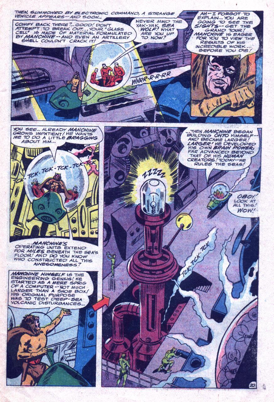 Read online Sea Devils comic -  Issue #33 - 28