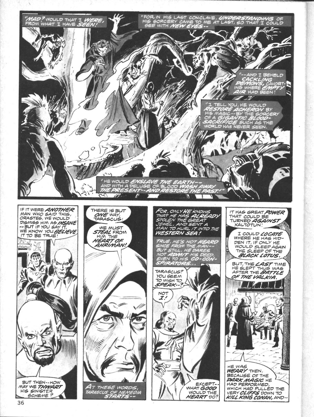 The Savage Sword Of Conan Issue #10 #11 - English 28