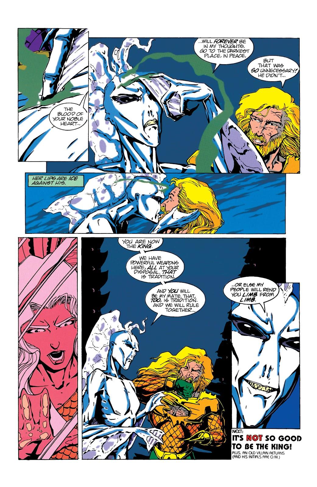 Aquaman (1994) Issue #17 #23 - English 22