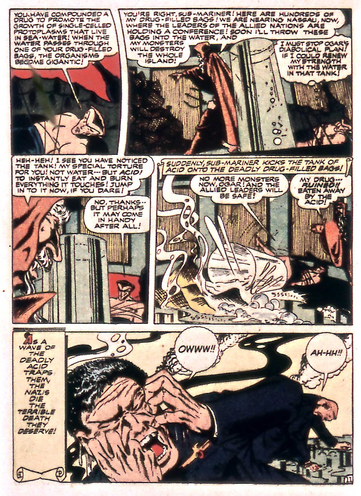 Sub-Mariner Comics Issue #14 #14 - English 40