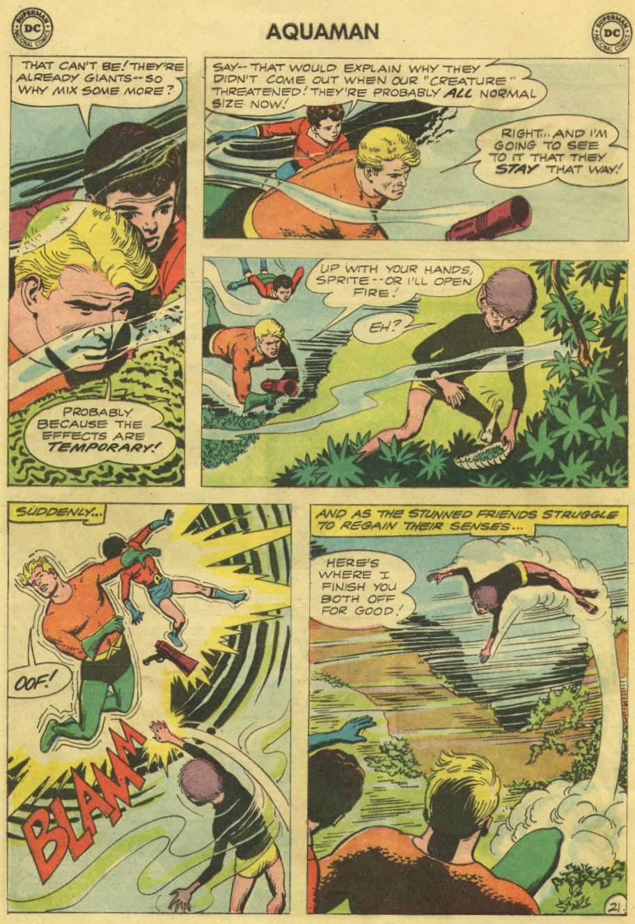 Aquaman (1962) Issue #10 #10 - English 28