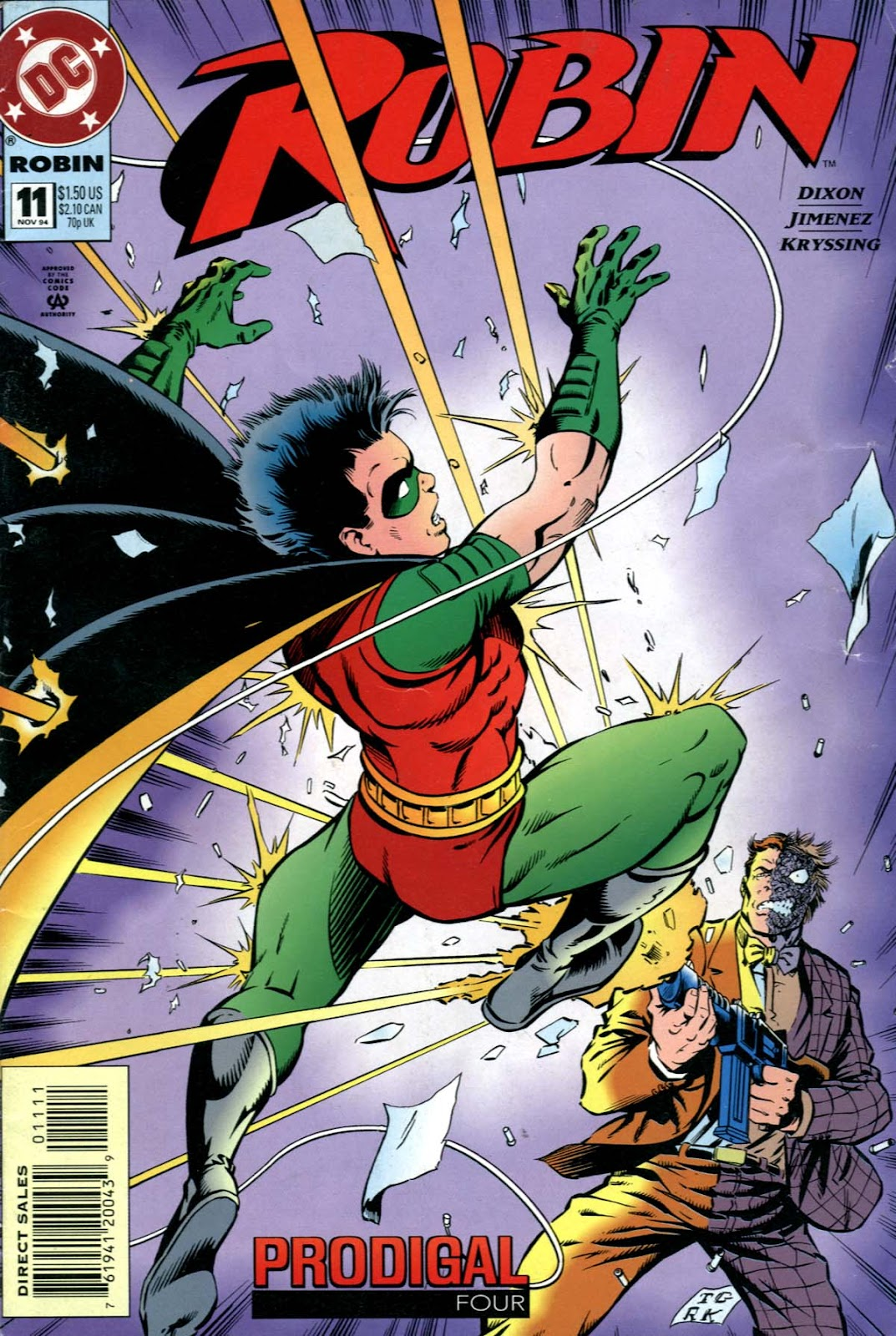 batman knightfall prodigal issue 4 read full comics online for