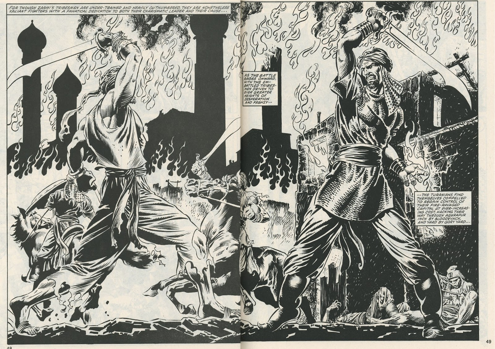 The Savage Sword Of Conan Issue #112 #113 - English 49