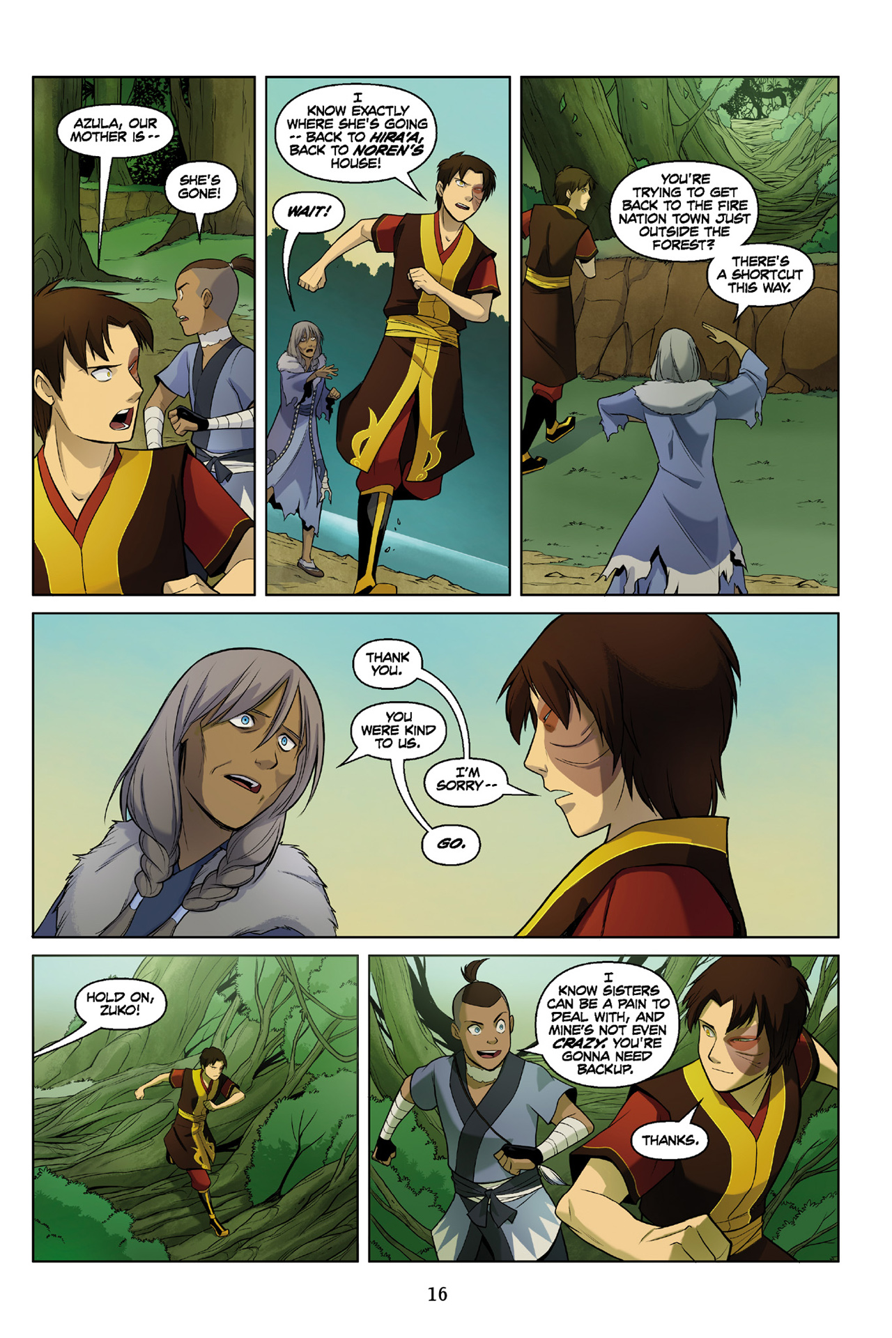 Read online Nickelodeon Avatar: The Last Airbender - The Search comic -  Issue # Part 3 - 17