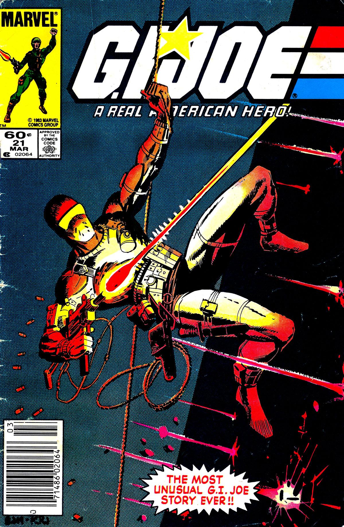 G.I. Joe: A Real American Hero 21 Page 1