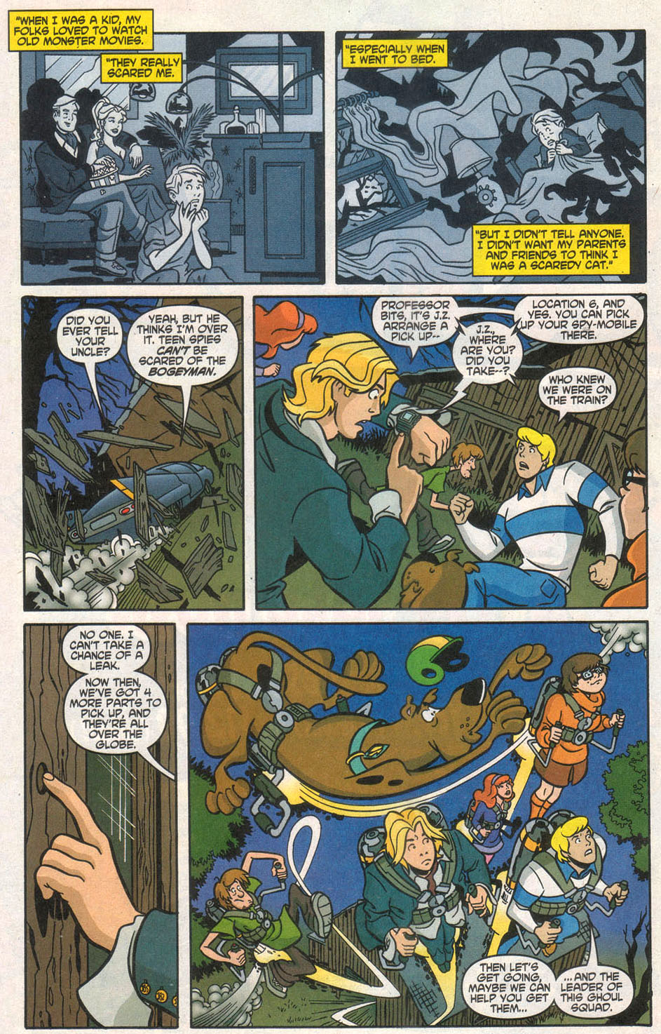 Read online Scooby-Doo (1997) comic -  Issue #106 - 11