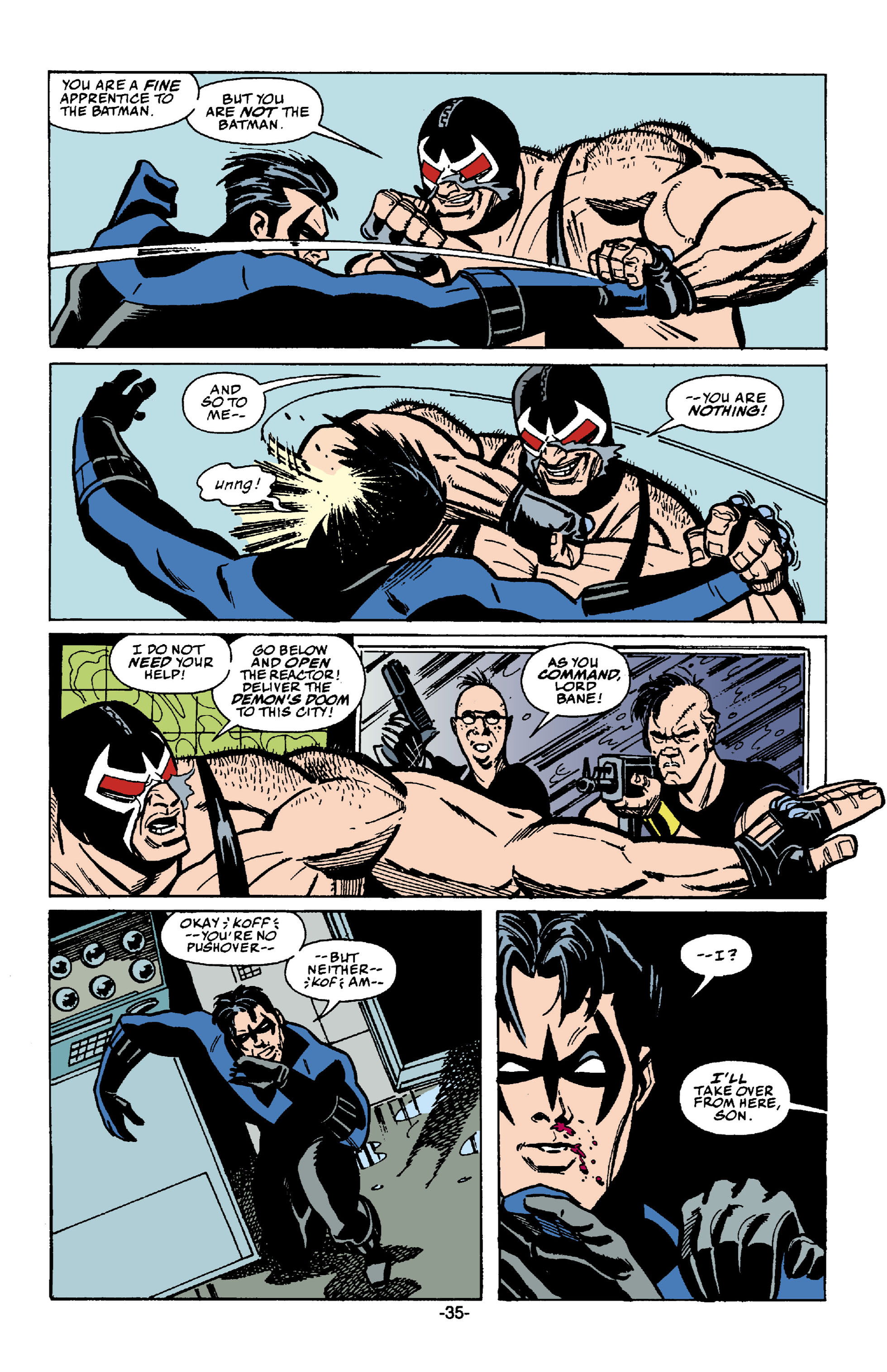 Read online Batman: Bane comic -  Issue # Full - 36