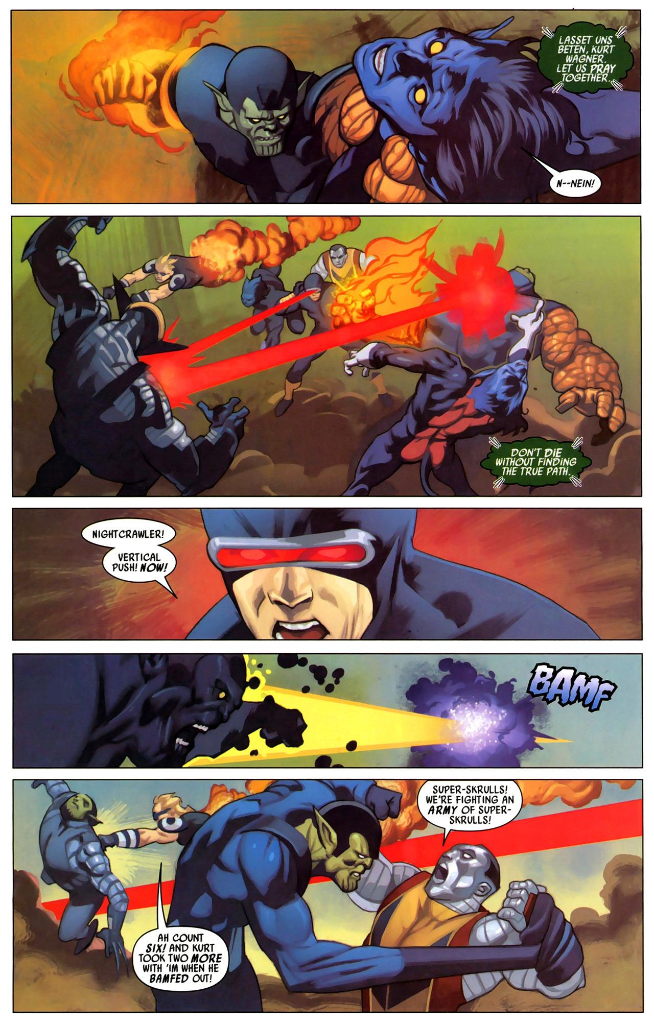 Read online Secret Invasion: X-Men comic -  Issue #2 - 3
