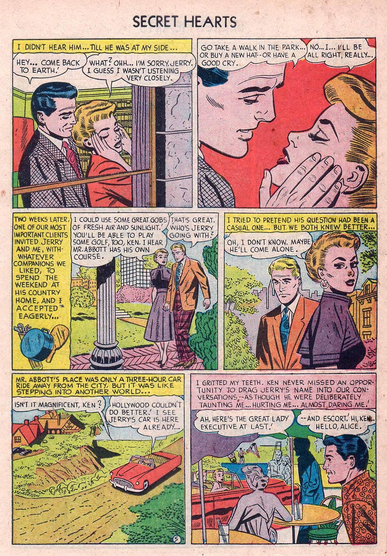 Read online Secret Hearts comic -  Issue #12 - 31