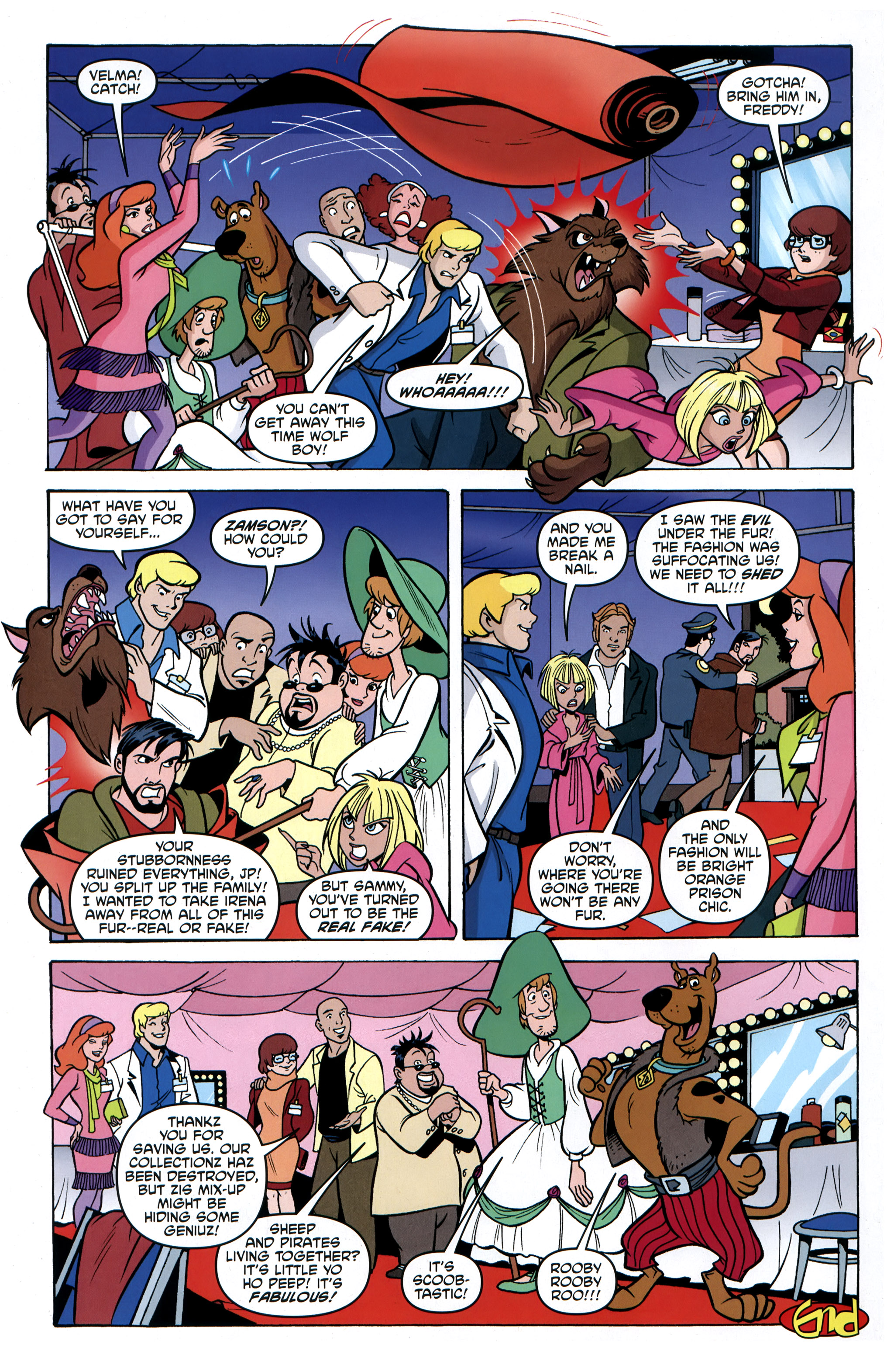 Read online Scooby-Doo: Where Are You? comic -  Issue #31 - 24