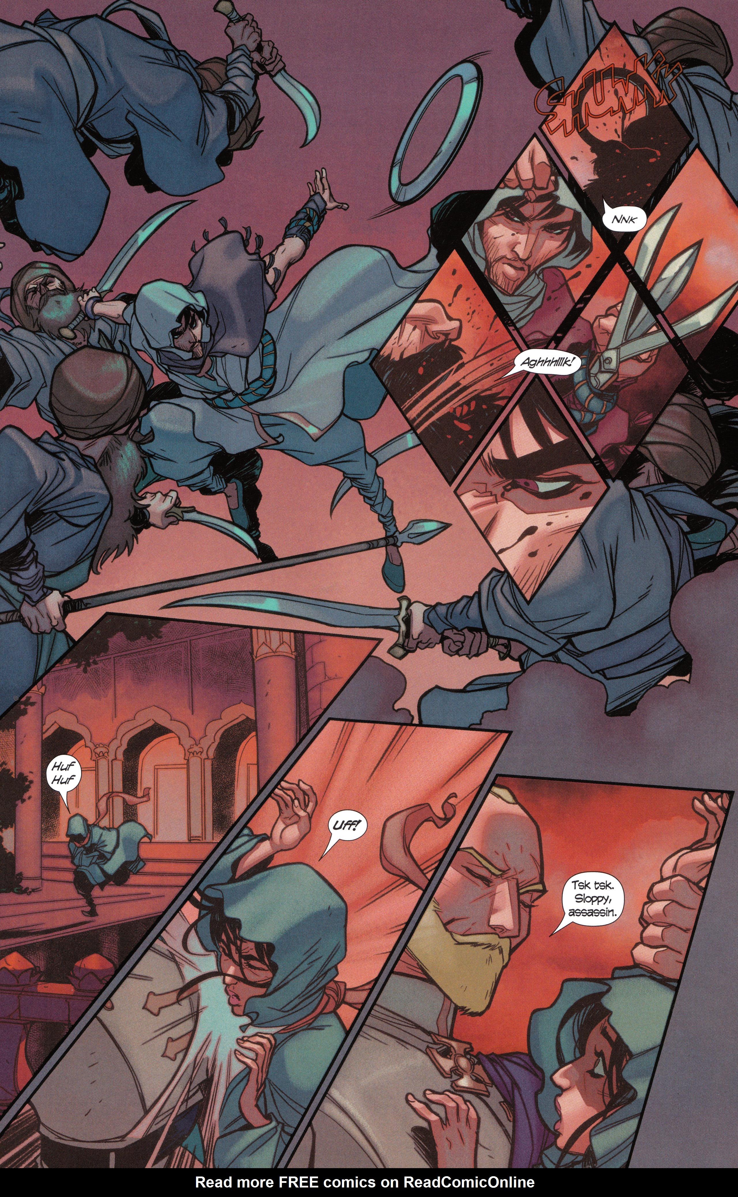 Read online Assassin's Creed Brahman comic -  Issue #Assassin's Creed Brahman Full - 96