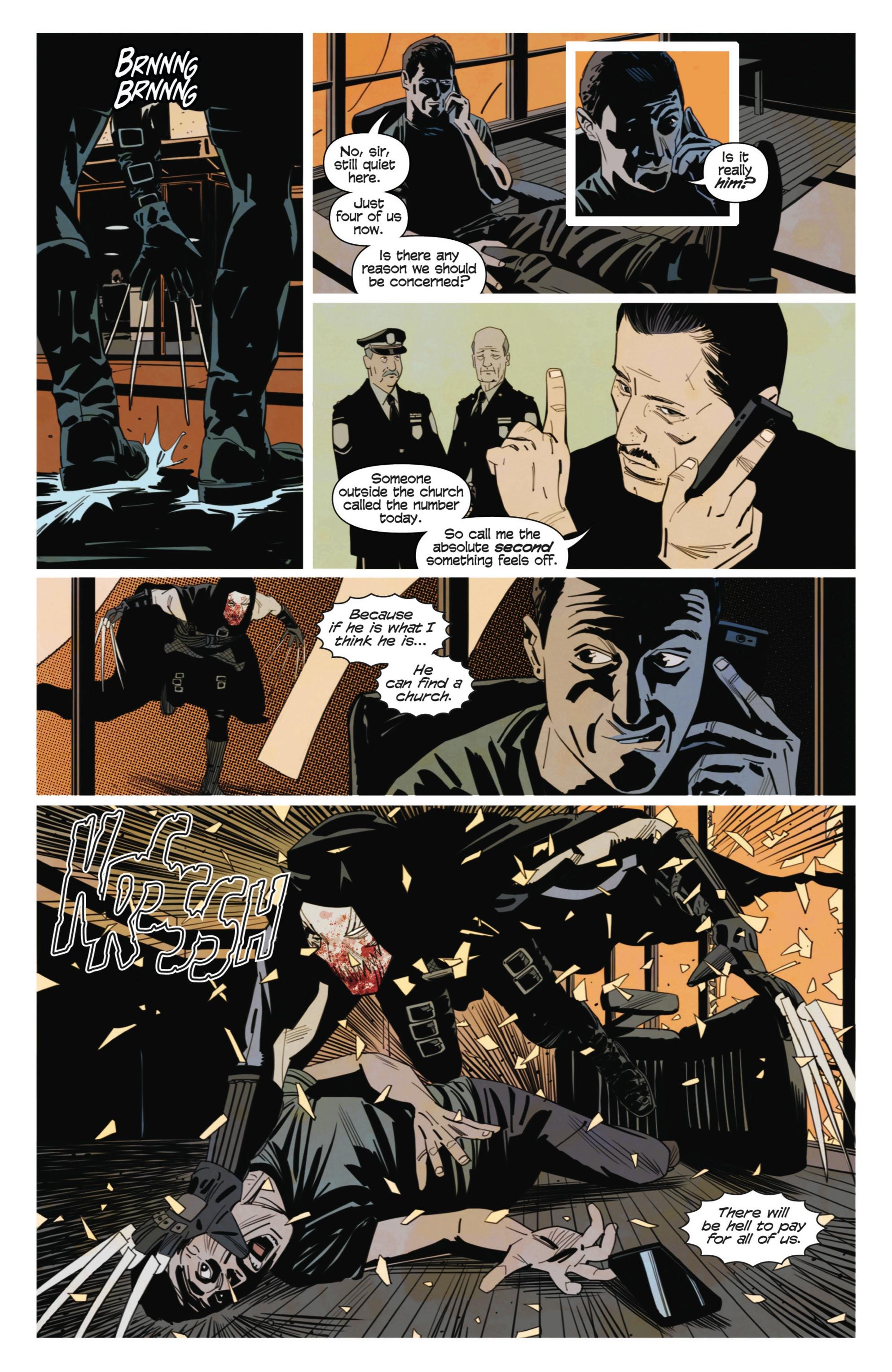 Read online Demonic comic -  Issue #3 - 19