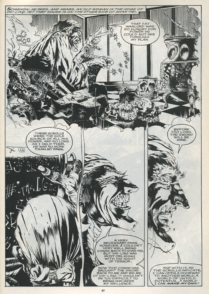 The Savage Sword Of Conan Issue #175 #176 - English 49