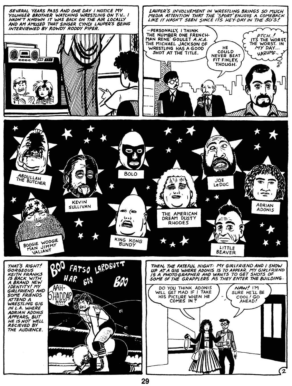 Love and Rockets (1982) Issue #16 #15 - English 31