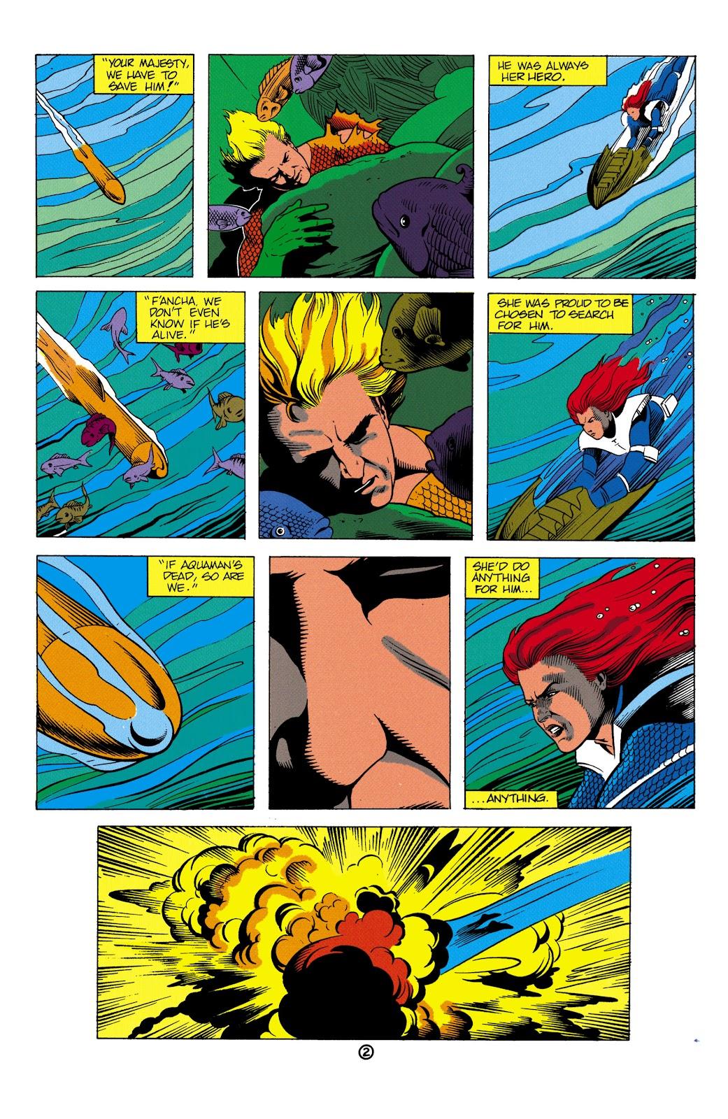 Aquaman (1991) Issue #2 #2 - English 3