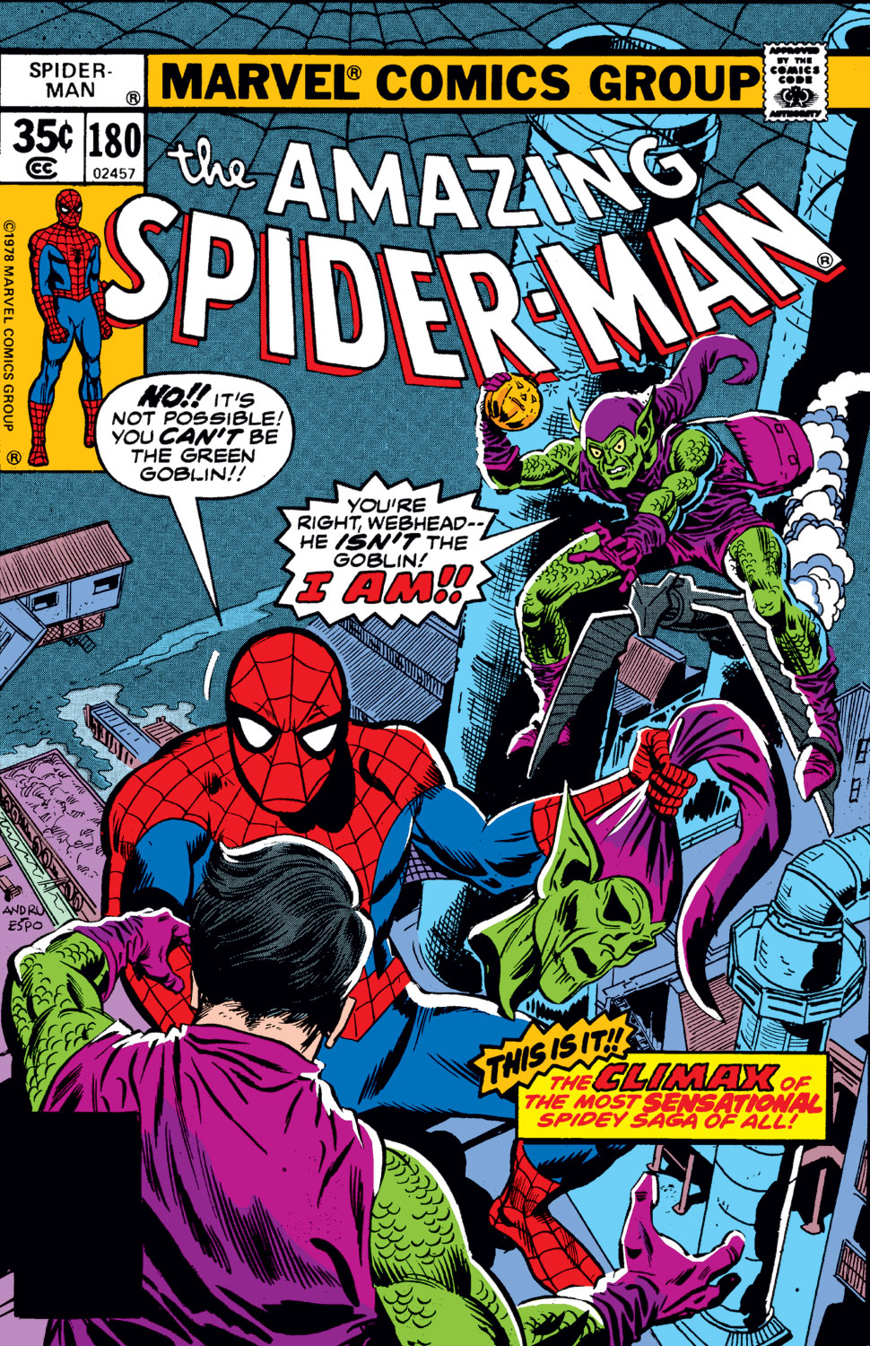The Amazing Spider-Man (1963) 180 Page 1