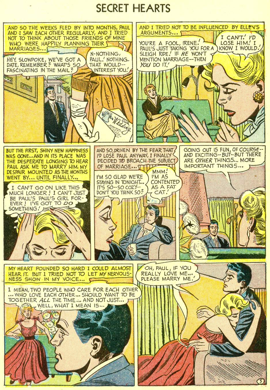 Read online Secret Hearts comic -  Issue #21 - 7