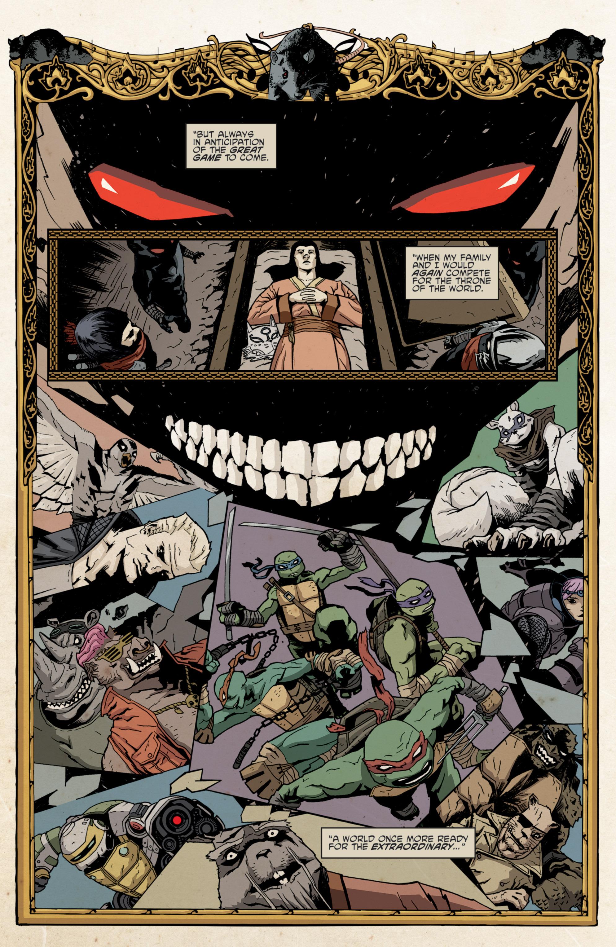 Read online Teenage Mutant Ninja Turtles (2011) comic -  Issue #36 - 16