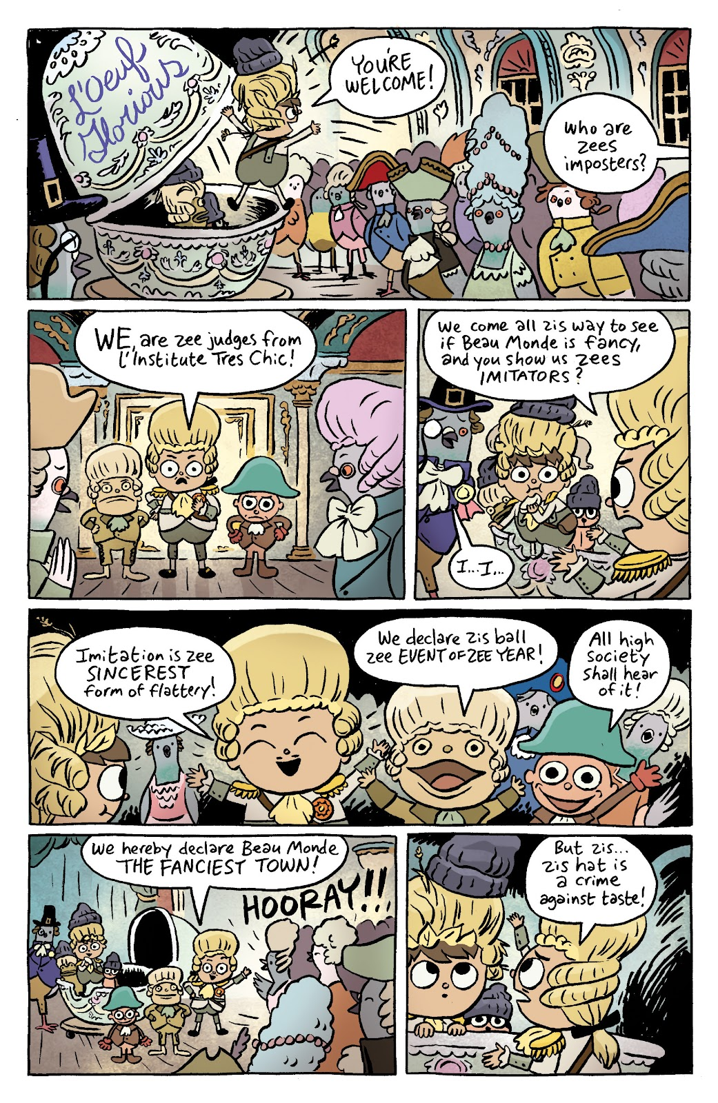 Over the Garden Wall (2016) Issue #7 #7 - English 12
