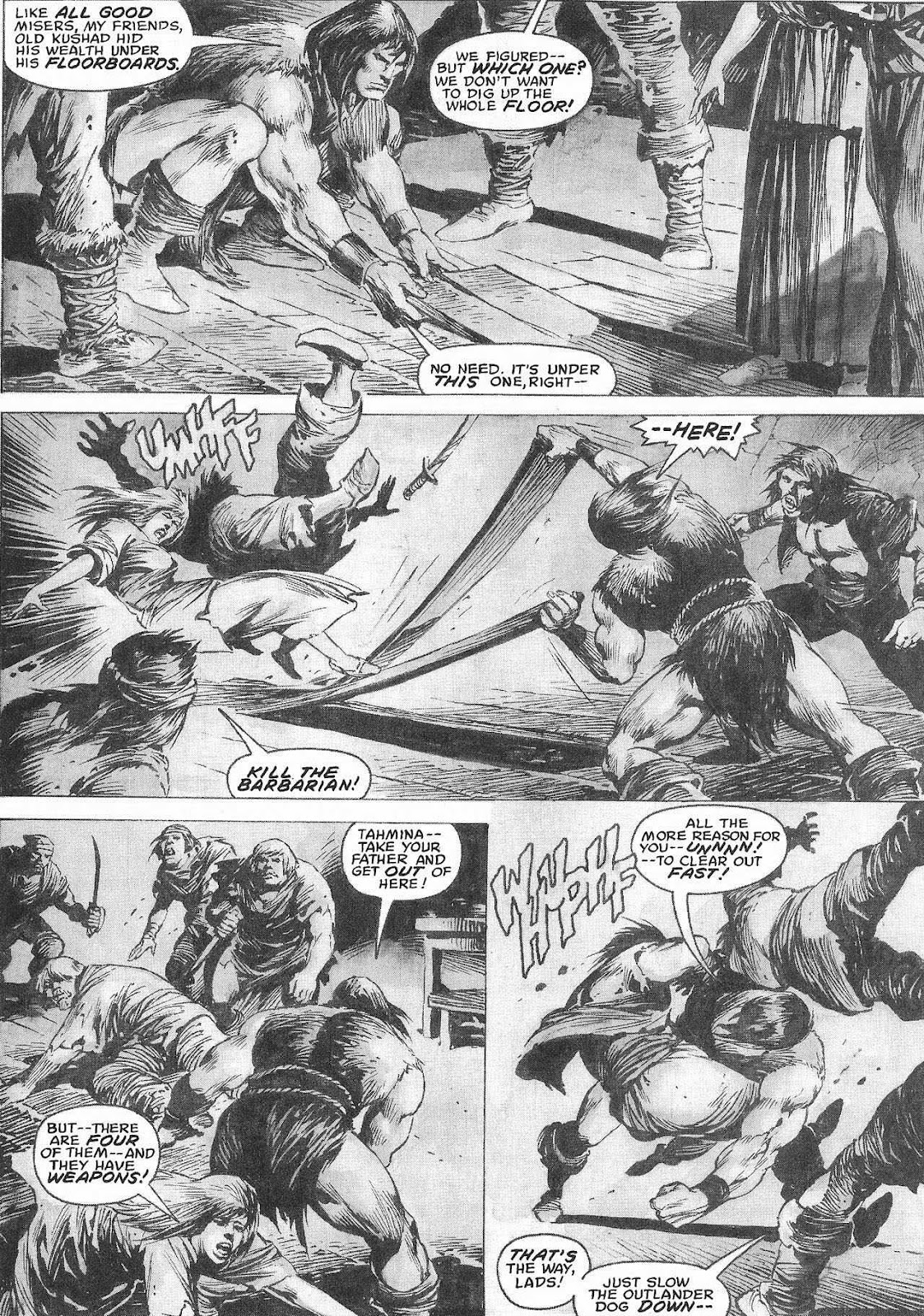 The Savage Sword Of Conan Issue #207 #208 - English 46