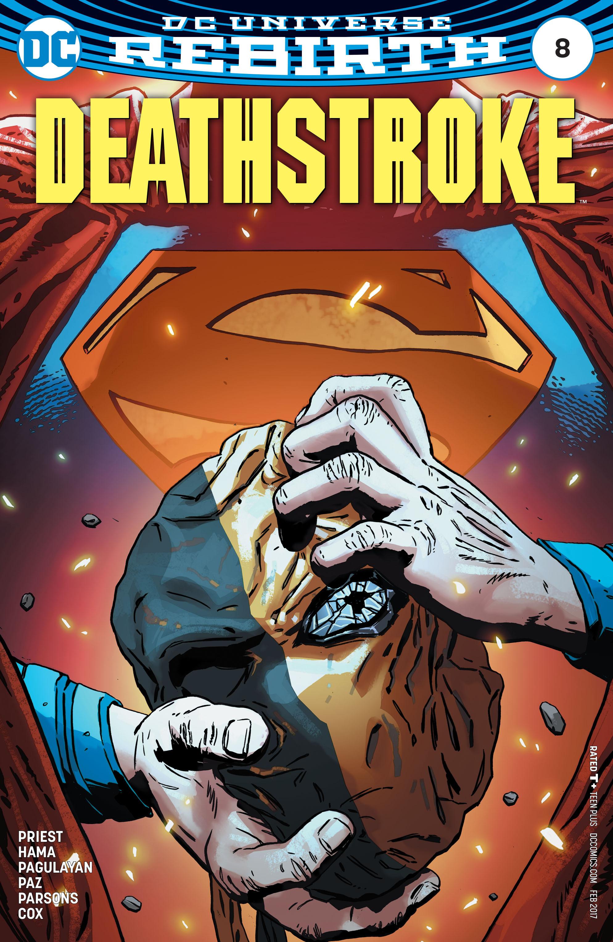 Deathstroke (2016) 8 Page 1