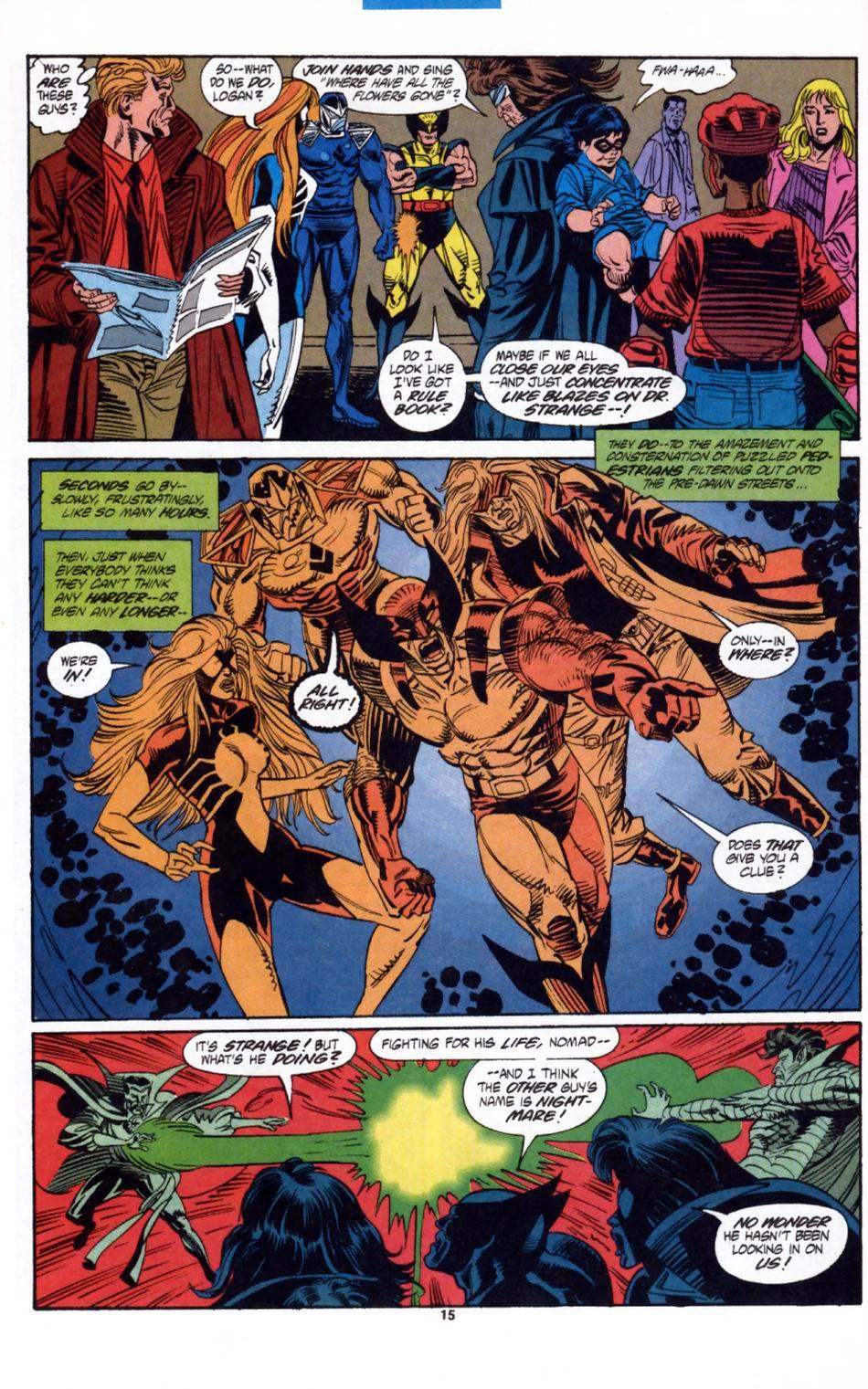 Read online Secret Defenders comic -  Issue #2 - 12
