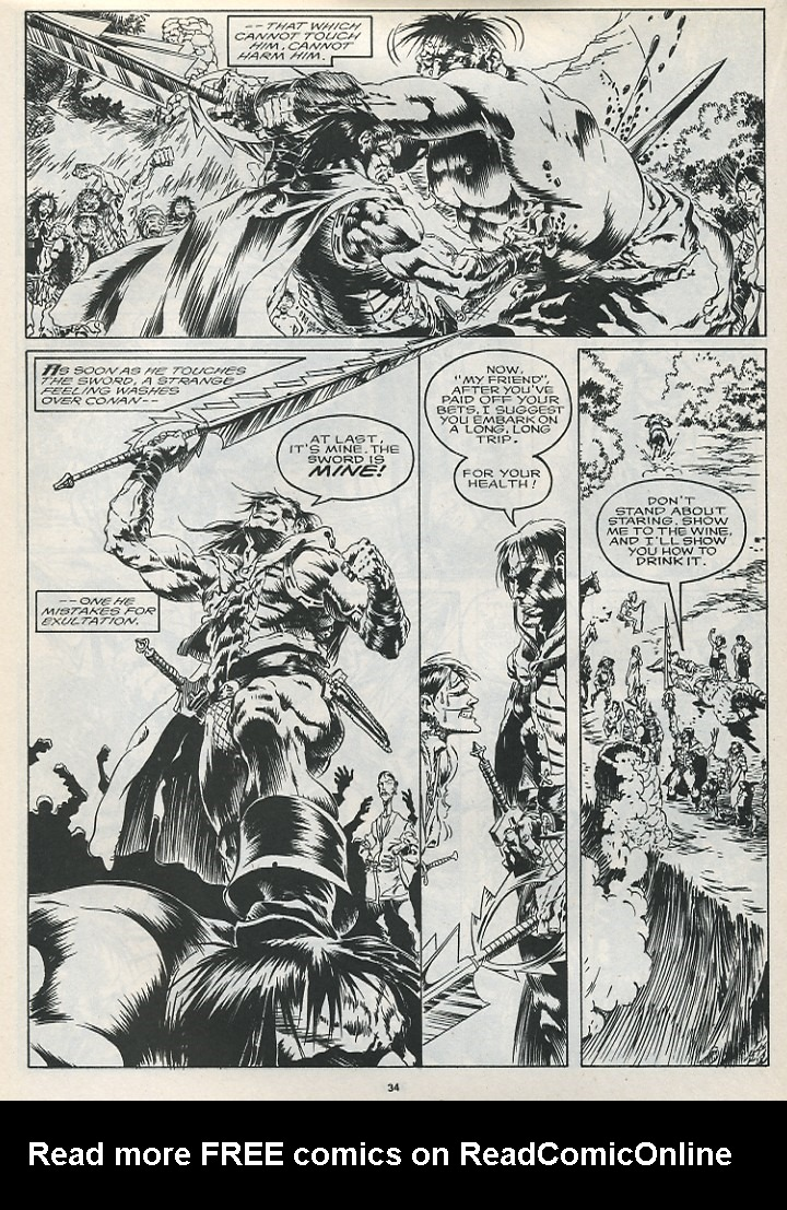 The Savage Sword Of Conan Issue #175 #176 - English 36