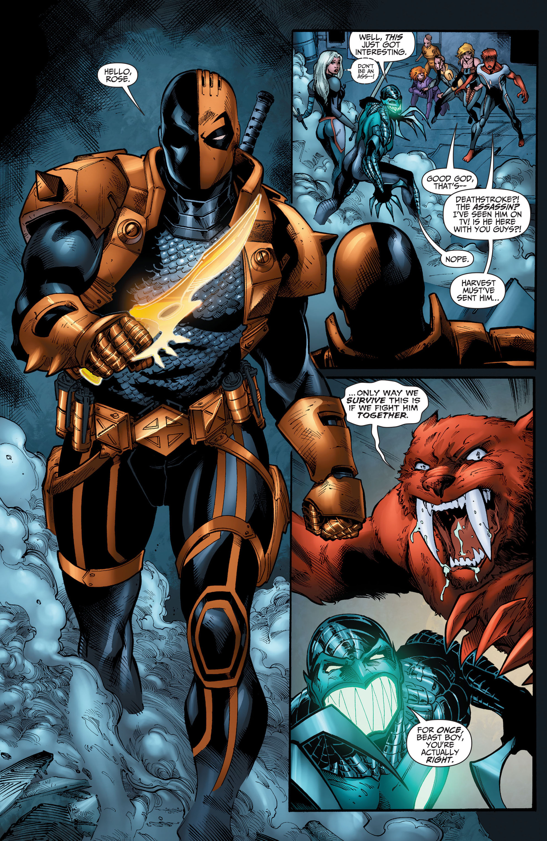 Read online The Ravagers comic -  Issue #11 - 10
