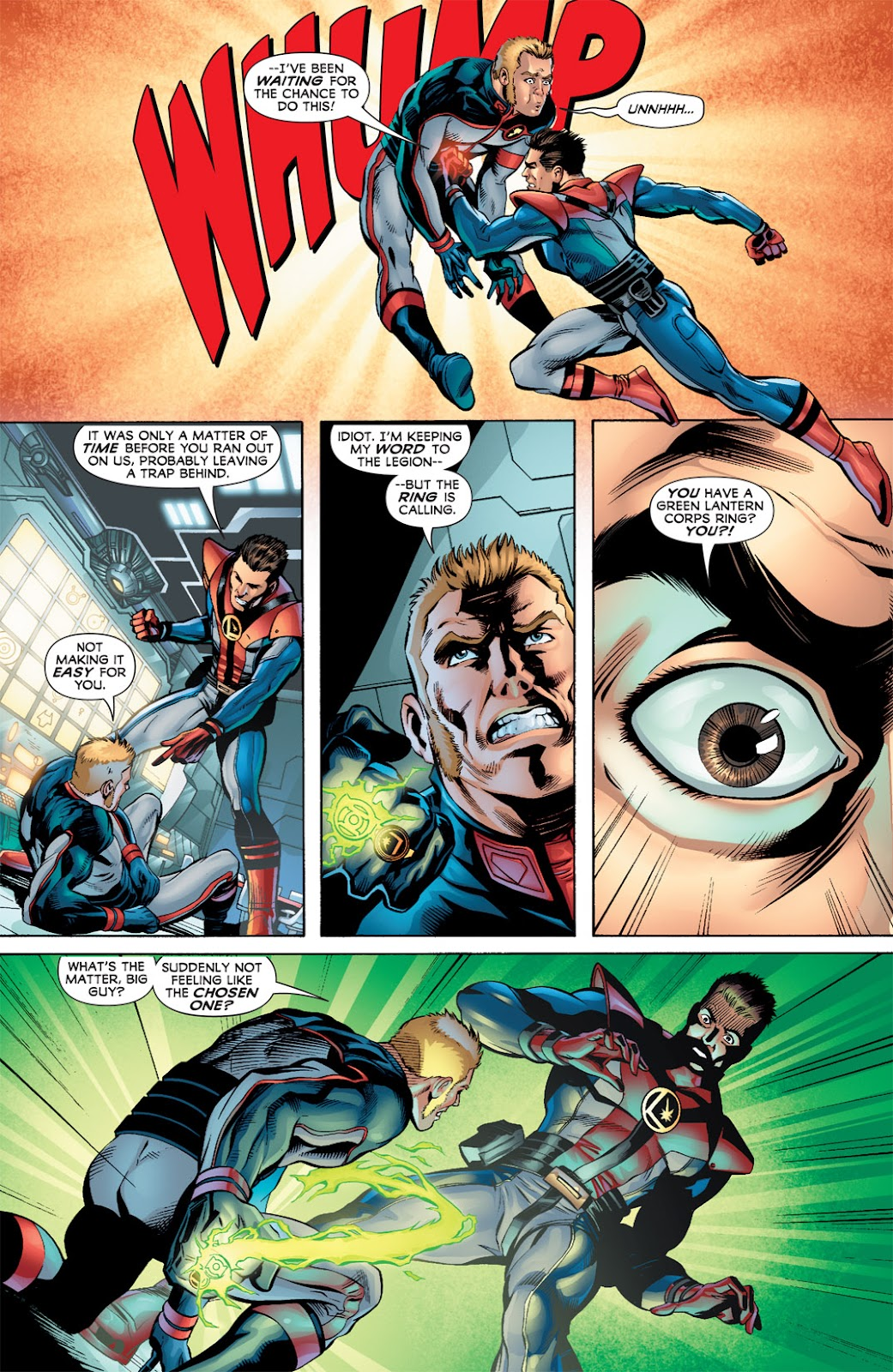 Legion of Super-Heroes (2010) Issue #3 #4 - English 4