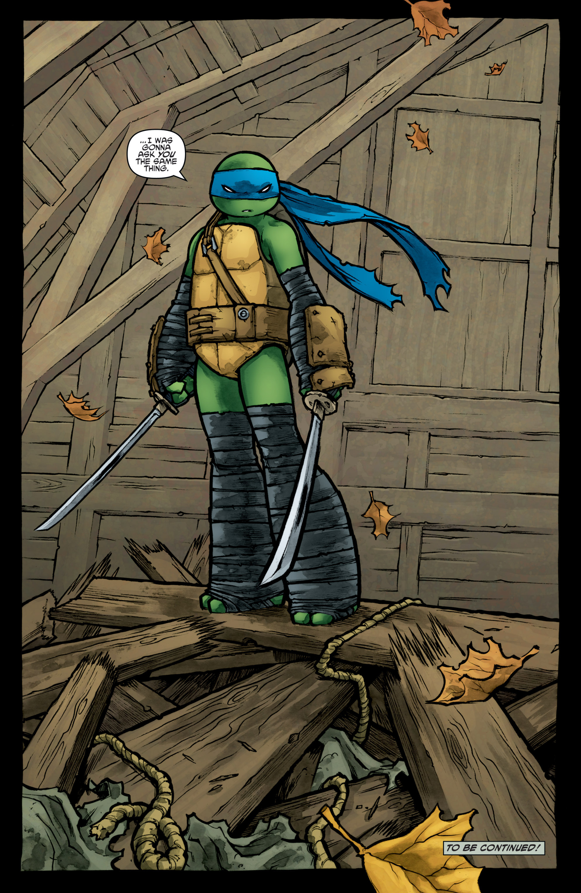 Read online Teenage Mutant Ninja Turtles (2011) comic -  Issue #31 - 26
