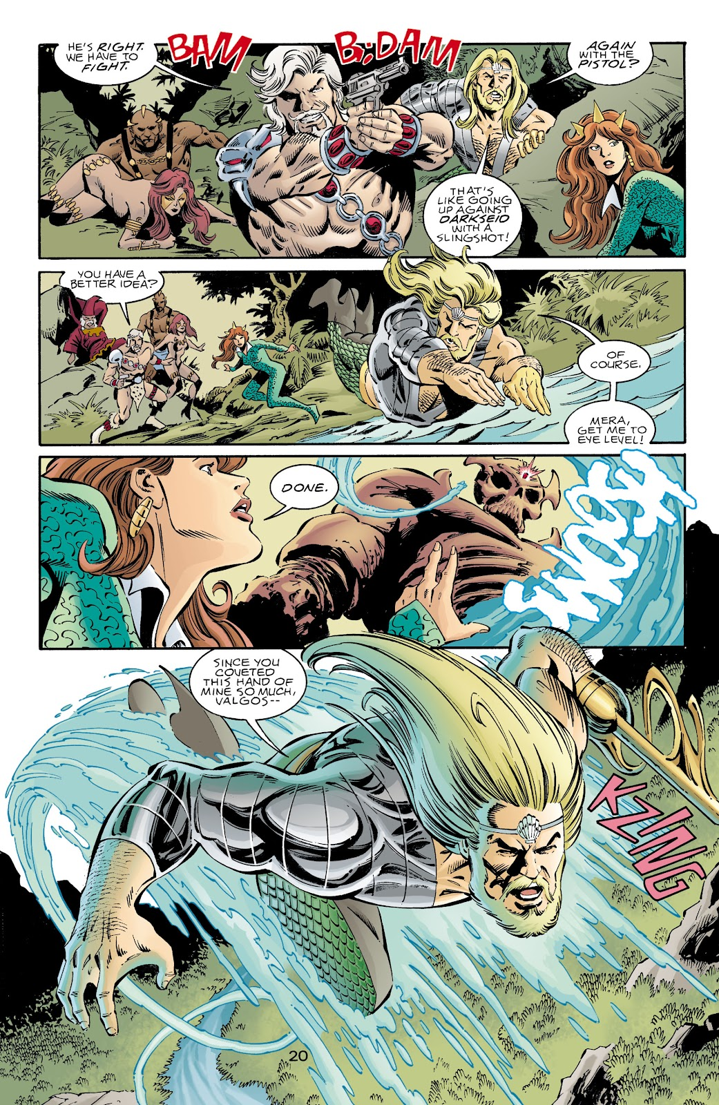 Aquaman (1994) Issue #73 #79 - English 20