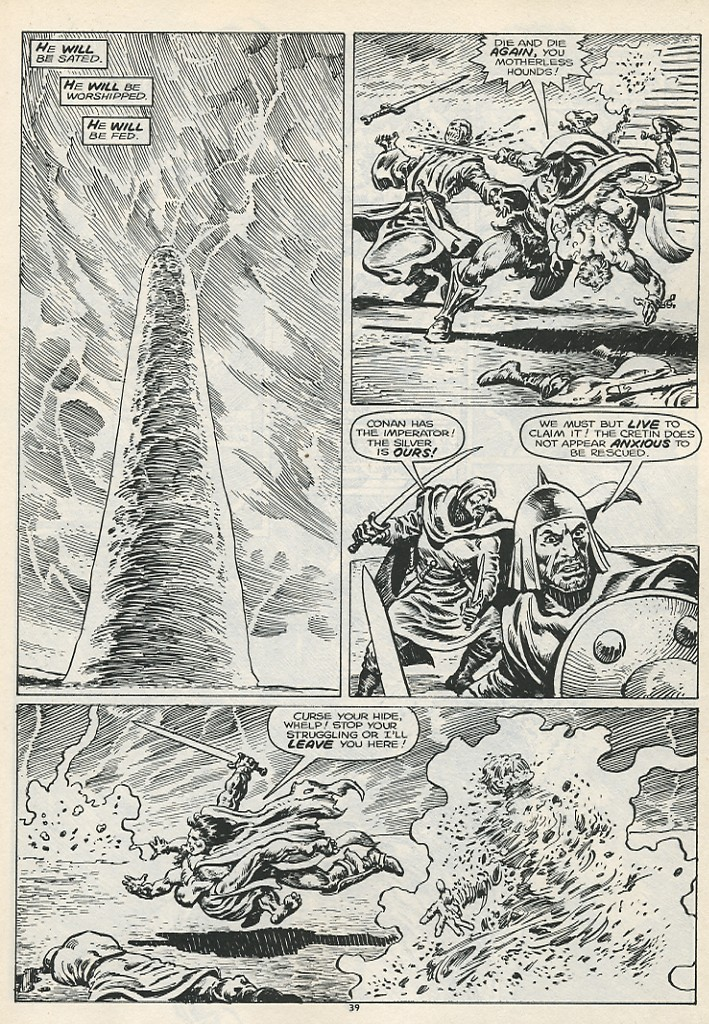 The Savage Sword Of Conan Issue #178 #179 - English 41