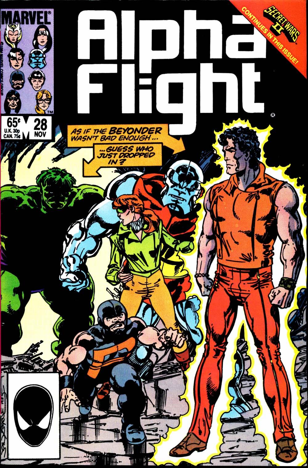 Alpha Flight (1983) 28 Page 1
