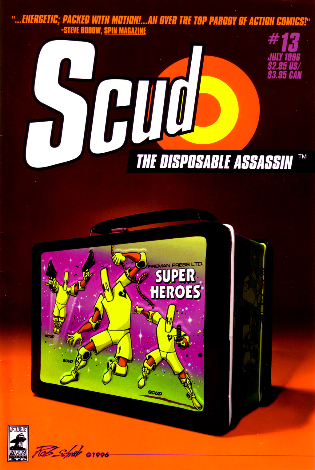 Read online Scud: The Disposable Assassin (1994) comic -  Issue #13 - 1